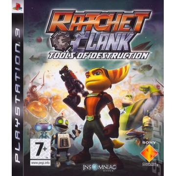 Ratchet and Clank Tools Of Destruction (Lietota)